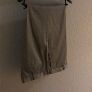 Other - Mens khaki pants, hardly worn, no pleat at front